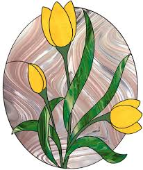 Stained Glass Flower Patterns Mesmerizing Flowers Plants Best Stained Glass Patterns