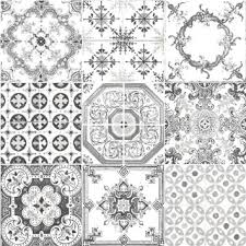 moroccan tiles grey