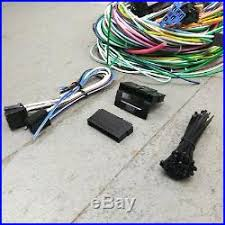 ford wire wiring harness 1966 1975 ford bronco wire harness upgrade kit fits painless new update fuse