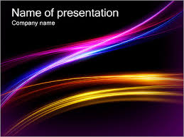 Dark Color Abstract Powerpoint Template Infographics Slides