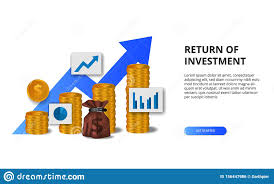 Return On Investment Roi Profit Opportunity Concept