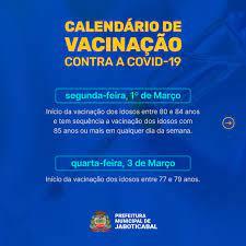 Jaboticabal amplia número de unidades de saúde para aplicação da vacina  contra o novo coronavírus em idosos com 80 anos ou mais. - Prefeitura  Jaboticabal