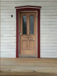 refinishing old antique farmhouse doors