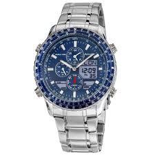 5 best dual display analogue digital watches for men the watch blog accurist men s quartz watch blue dial analogue digital display and silver stainless steel bracelet