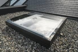 Velux Deutschland Gmbh Flachdach Fenster Konvex Glas Von Velux Mit