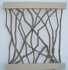 paint coloured wall art branches choice hot glue ens diy sculptures design creative works artistic