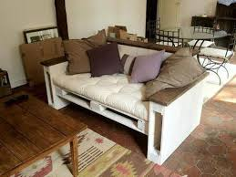 Muebles De Palets Con LucesSofa Cama Con Palets