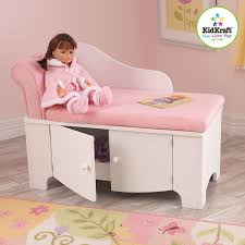 Pink Chair For Bedroom Girls Pink Princess Storage Chaise Lounge Chair Couch Kids Bedroom