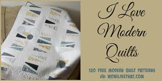 free Archives - wow i like that & 120 Free Modern Quilt Patterns Adamdwight.com