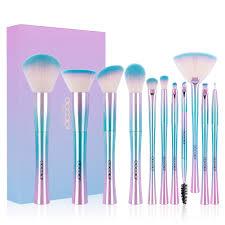 makeup brushes clearance docolor 11 pcs fantasy makeup brushes set foundation powder contour eyeshadow fan cosmetic brush kits walmart