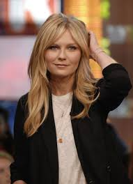 Square Face Bangs Hairstyle The 15 Best Haircuts With Bangs Kirsten Dunst Parted Bangs And