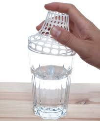 3d printed clip on vase transforms ikea drinking glass into a vase