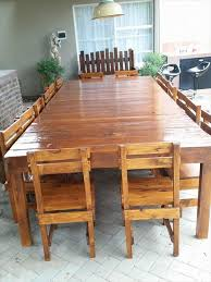 Sixteen Seater Pallet Dining Table