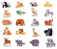 Игровой <b>набор</b> MAG-RUS Дикие животные и их детеныши (<b>20</b> ...