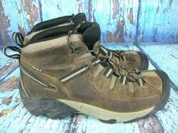 keen targhee ii waterproof mid hiking ankle boots brown leather men s size 12 hike camp hiking boots shoes sidelineswap