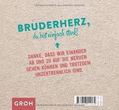 Für Mein Bruderherz Amazonde Joachim Groh Bã¼cher