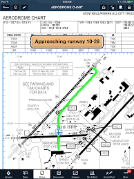 Canadian Airport Charts Foreflight Launches Geo Referenced Approach Plates For