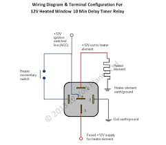 timer relay wiring diagram simple wiring diagram site 12v universal window heater timer relay 12 volt planet fuse wiring diagram timer relay wiring diagram