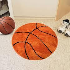 kids room basketball rug non slip backing sports themed for kids bedroom rugs ideas for