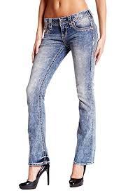 Rock Revival Plus Size Chart Rock Revival Women Boots Cut Jeans Light Indigo 26 27 28 At