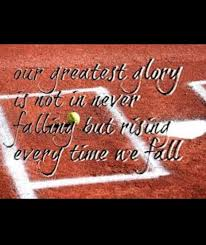 pics of softball sayings softball quote love ball pinterest softball quotes love