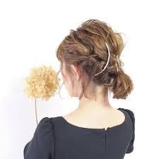ボブ専用結婚式ヘアアレンジやり方髪型のヘアカタログ2017年版ponte