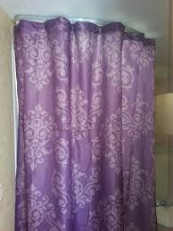 6 shower curtain from family dollar and it s purple