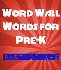 funny 5 letter words practicing preschool word wall words part i a e