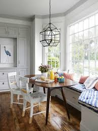 kitchen window seat with table. Simple Table Kitchen Banquette Idea To Window Seat With Table