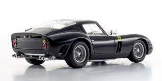 175 miles ferrari classiche certification 1 of 599 produced 1 of 125 exported to the u.s. 1 18 Ferrari 250 Gto Black