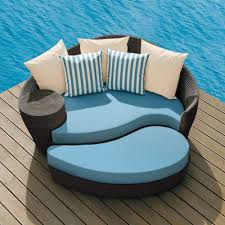 cool blue cushions seat ohana outdoor furniture design ideas with modern outdoor pool reviews