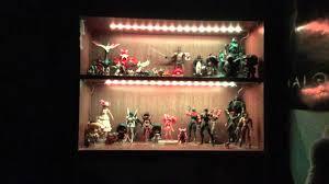 Bookshelf Lighting Bookcase Lighting Showcase Youtube