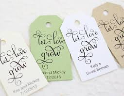 bridal shower gift card promotion shop for promotional bridal Wedding Shower Gift Cards personalized let love grow wedding welcome gift favor tags bridal shower bachelorette booking cards wedding shower gift cards to print