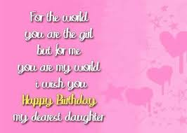 Happy Birthday Quotes For Daughter Fascinating Birthday Wishes For Daughter The Best 48 Happy Birthday Wishes [48]