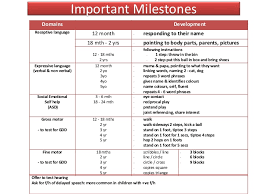 Developmental Milestones In Children For Undergraduates