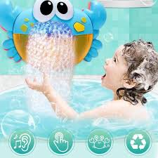 <b>Funny Music Crab Bubble</b> Blower Machine Electric Automatic Crab ...