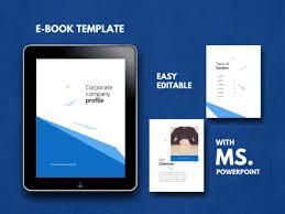 Ebook Template Coorporate Company Ebook Powerpoint Template