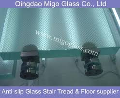 tempered laminated anti slip glass floor stair treads get latest