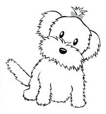 permalink to funny cute dog coloring pages