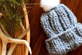 Knit Hat Pattern Straight Needles Amazing Decorating Ideas