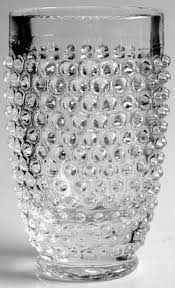 smith glass hobnail clear