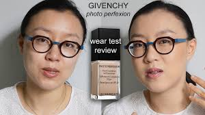 Givenchy Photo Perfexion Light Fluid Foundation Givenchy Photo Perfexion Foundation Review Wear Test On Oily Skin