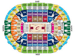 Rocket Mortgage Fieldhouse Interactive Seating Chart Quicken Loans Seating Chart
