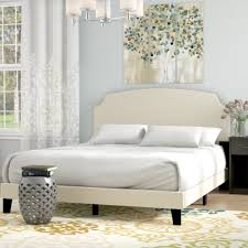 Andover Mills Greensburg Upholstered Panel Bed | Wayfair