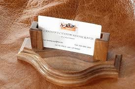 image of business card holder desk diy