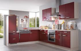 L Küche rot L Küchen Pinterest