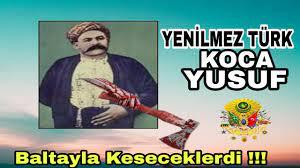 Yenilmez Türk Koca Yusuf - YouTube