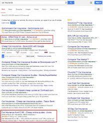 how insurance companies use search marketing aviva econsultancy tesco value car
