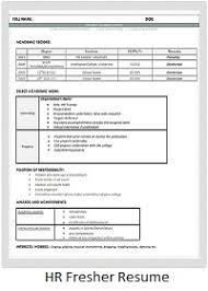 correct format of resumes resume sample formats for industry cv examples templates mba