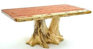 full size of glass dining table tree trunk base with top uk log red room alluring